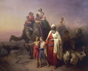 Abraham and family