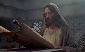 Jesus With Holy Scroll