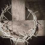 cross crown of thorns