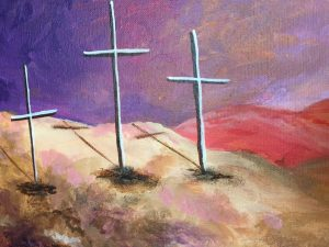 Three Cross Painting