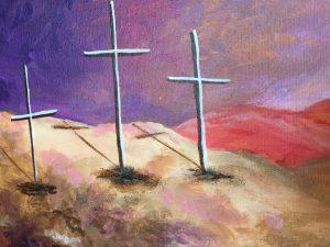 Three Cross Painting